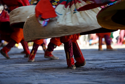 Festiwal Tsechu w Wangdue – Bhutan