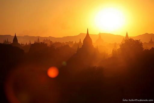 Magiczny dzień w Baganie – Myanmar