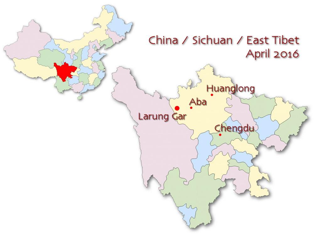 Wyprawa 2016: Larung Gar