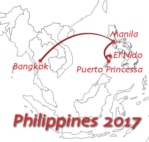Filipiny 2017 – czas w drogę…