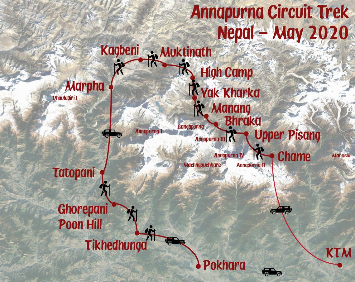 Trek Annapurna 2020